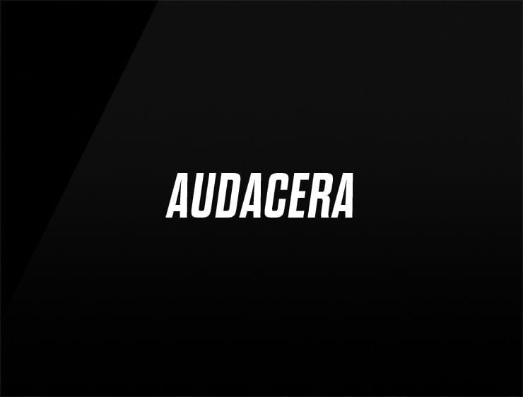bold company name AUDACERA