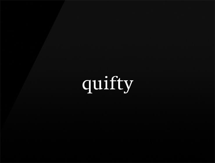 cool and short company name quifty
